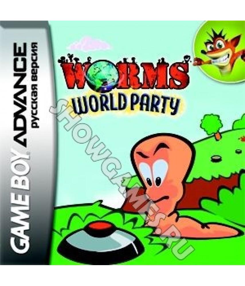 Worms: World Party (Русская версия) [Game boy]
