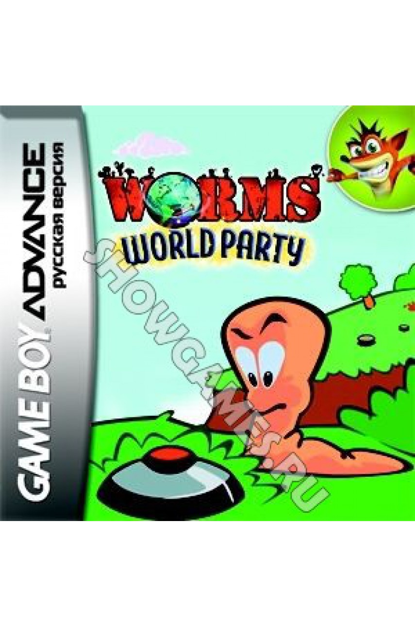 Worms: World Party (Русская версия) [Game boy]