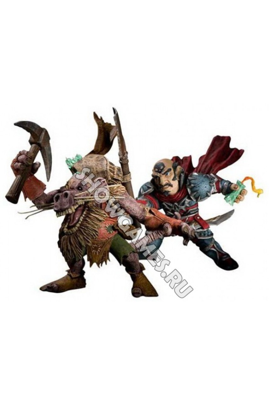 World of Warcraft Series 8. Фигурки Gnome Rogue vs. Kobold Miner 2-Pack