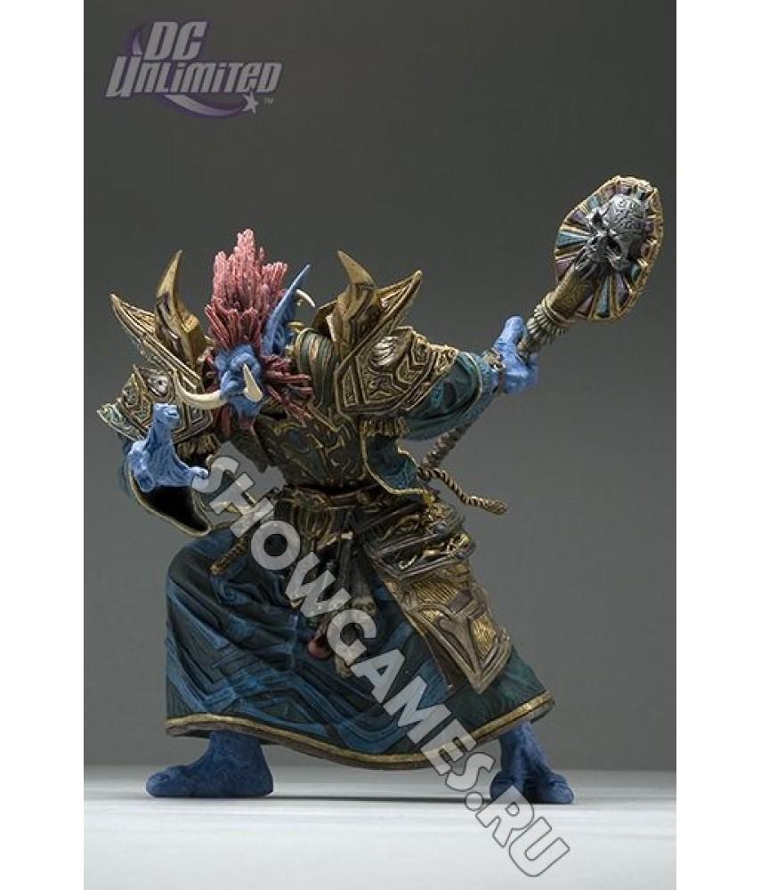 World of Warcraft Series. Фигурка Zabra Hexx Troll Priest (19 см)