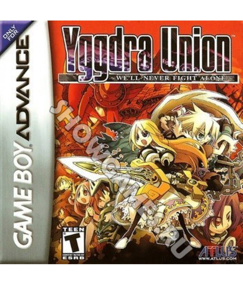 Yggdra Union Well Never Fight Alone [Game Boy]