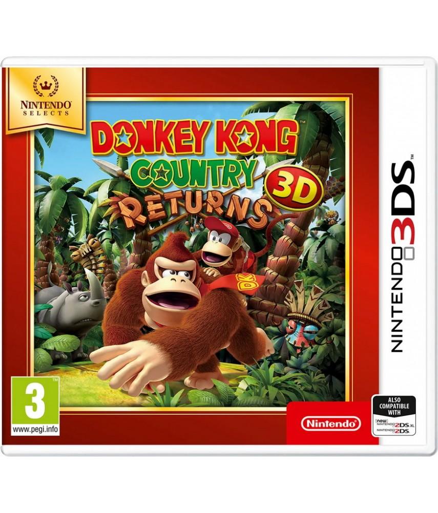 Nintendo 3DS игра Donkey Kong Country Returns 3D (Nintendo Select)