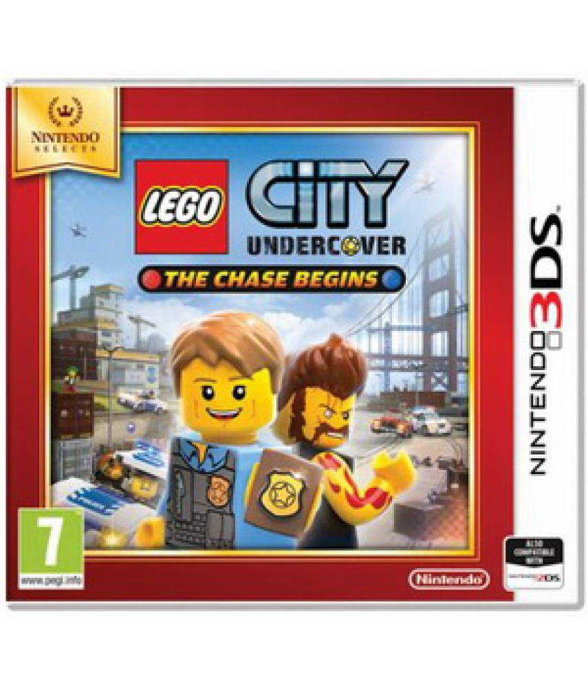LEGO City Undercover The Chase Begins (Русская версия) [3DS]