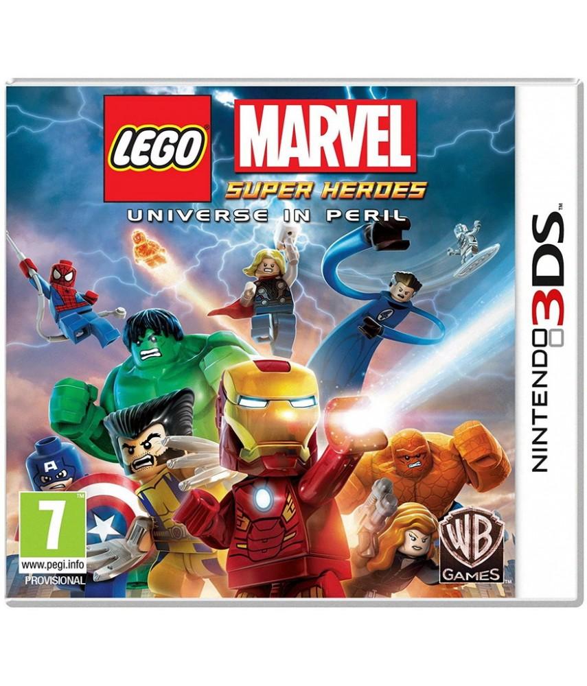 Nintendo 3DS игра LEGO Marvel Super Heroes Universe in Peril