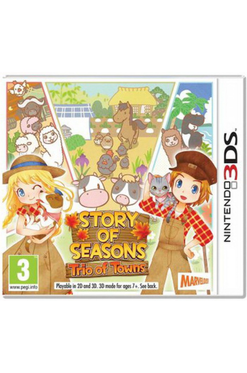 Story of Seasons Trio of Towns [3DS]