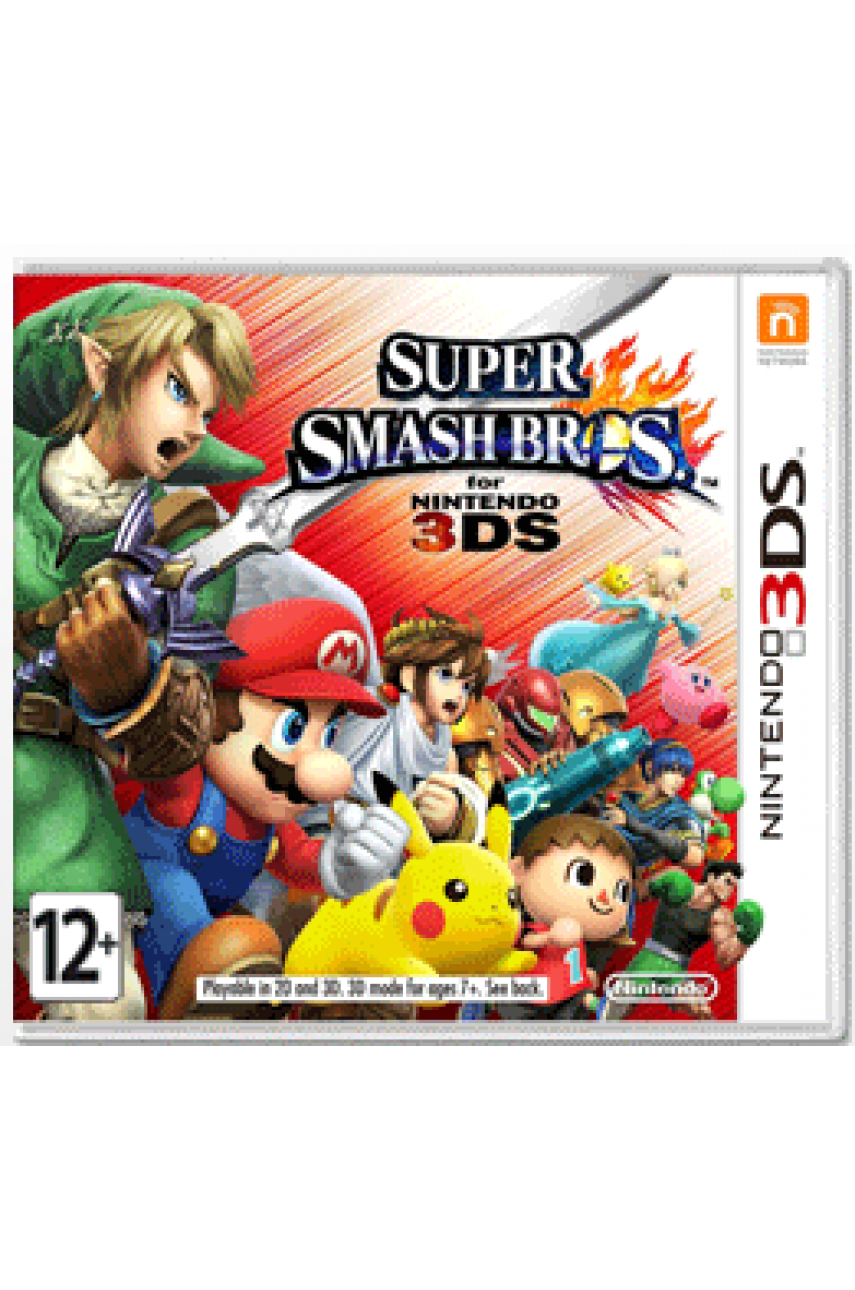 Super Smash Bros (Русская версия) [3DS]