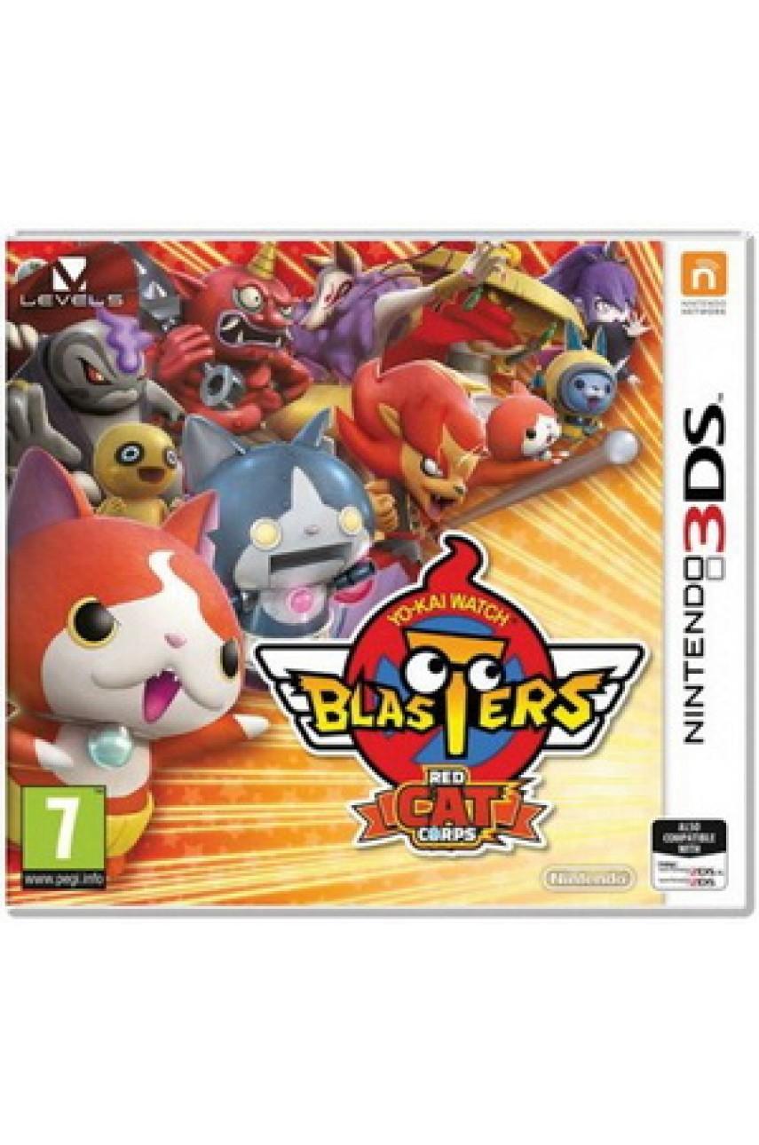 YO-KAI Watch Blasters Red Cat Corps [3DS]