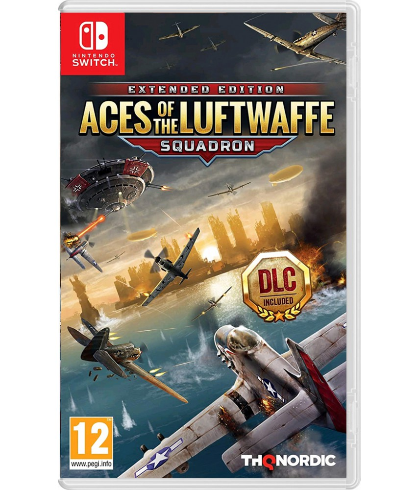 Aces of The Luftwaffe - Squadron Extended edition (Русские субтитры) [Nintendo Switch]