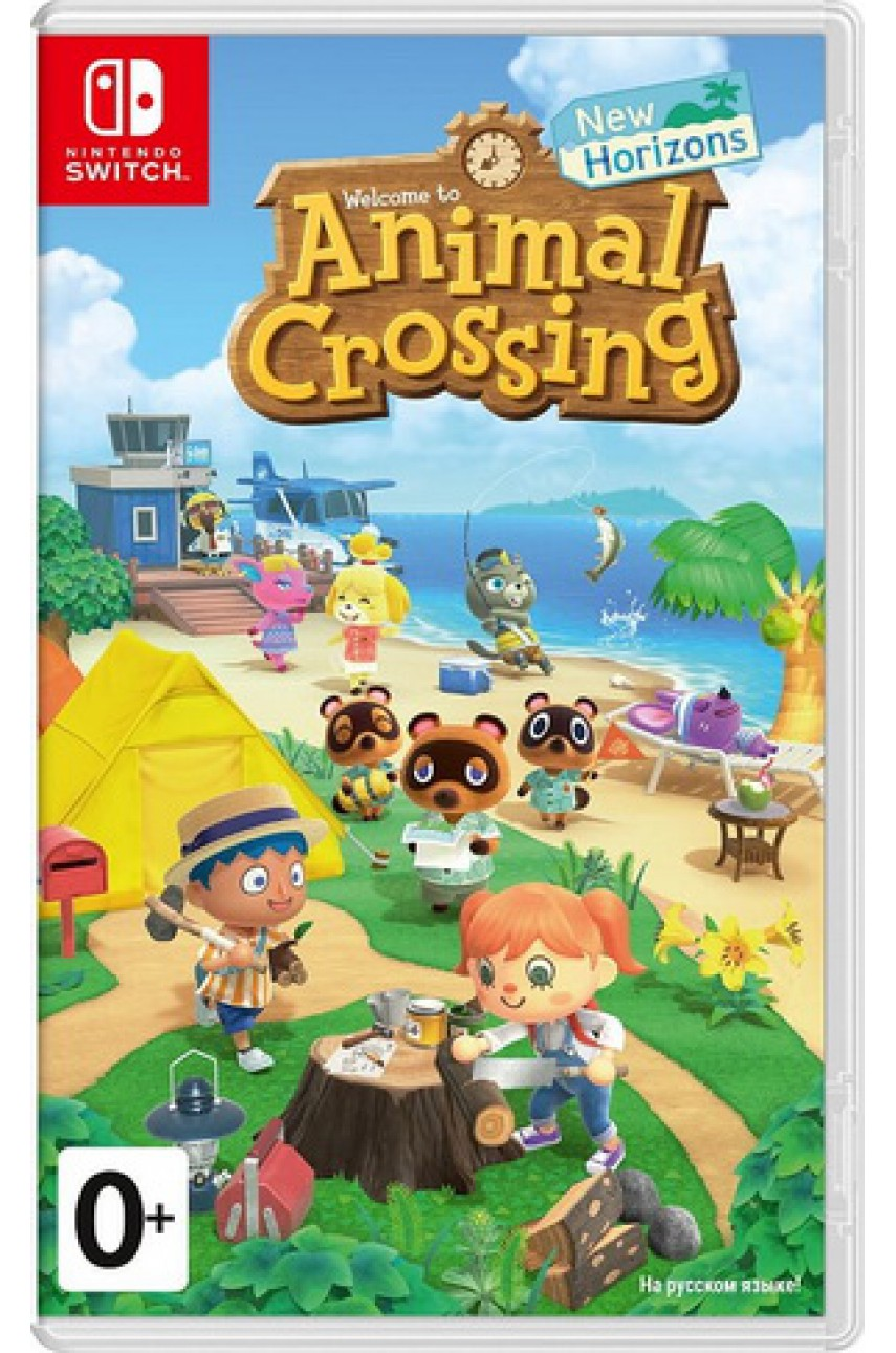 Animal Crossing: New Horizons (Русская версия) [Nintendo Switch]