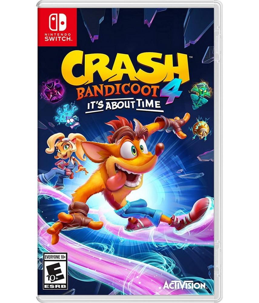 Crash Bandicoot 4: Это Вопрос Времени (Русские субтитры) [Nintendo Switch]