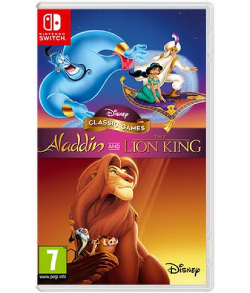 Disney Classic Games: Aladdin and The Lion King [Nintendo Switch]
