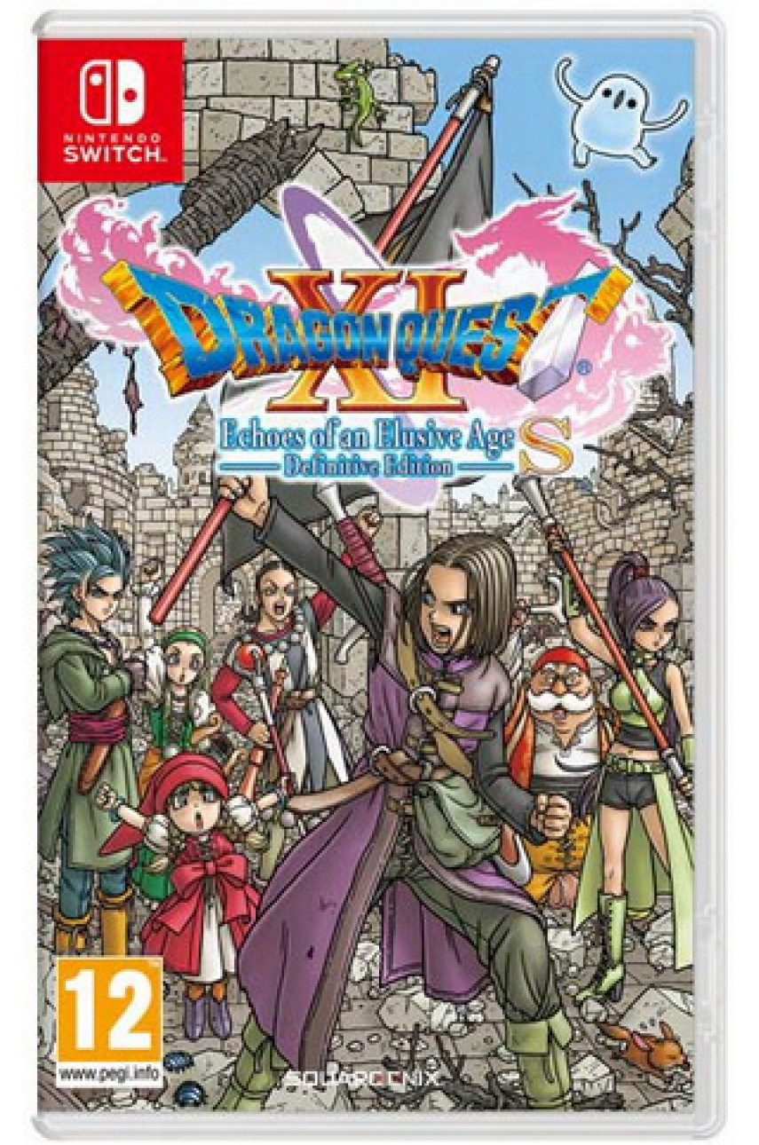 Dragon Quest XI S: Echoes of an Elusive Age Definitive Edition [Nintendo Switch]