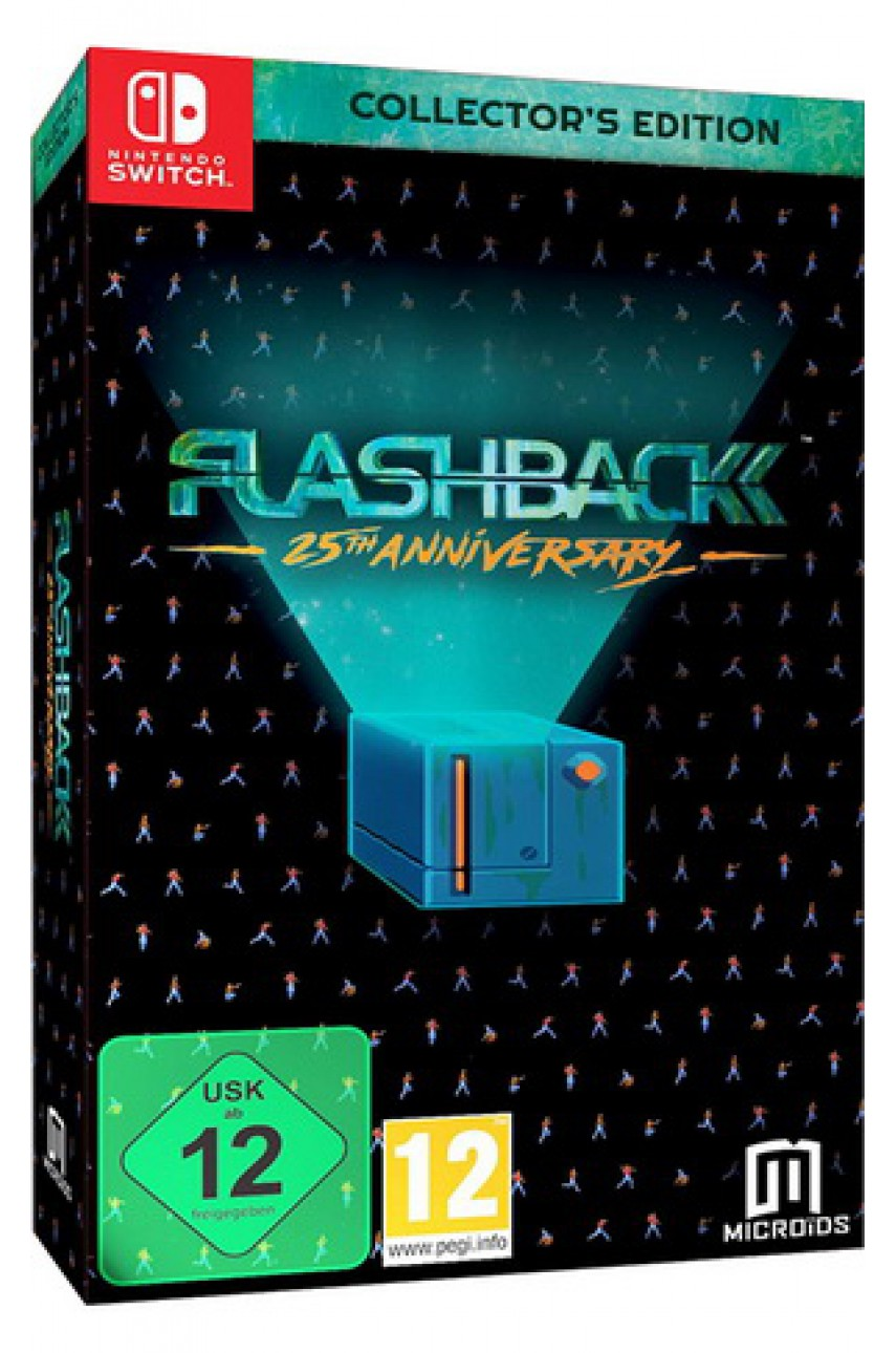 Flashback - 25th Anniversary - Collector's Edition [Nintendo Switch]
