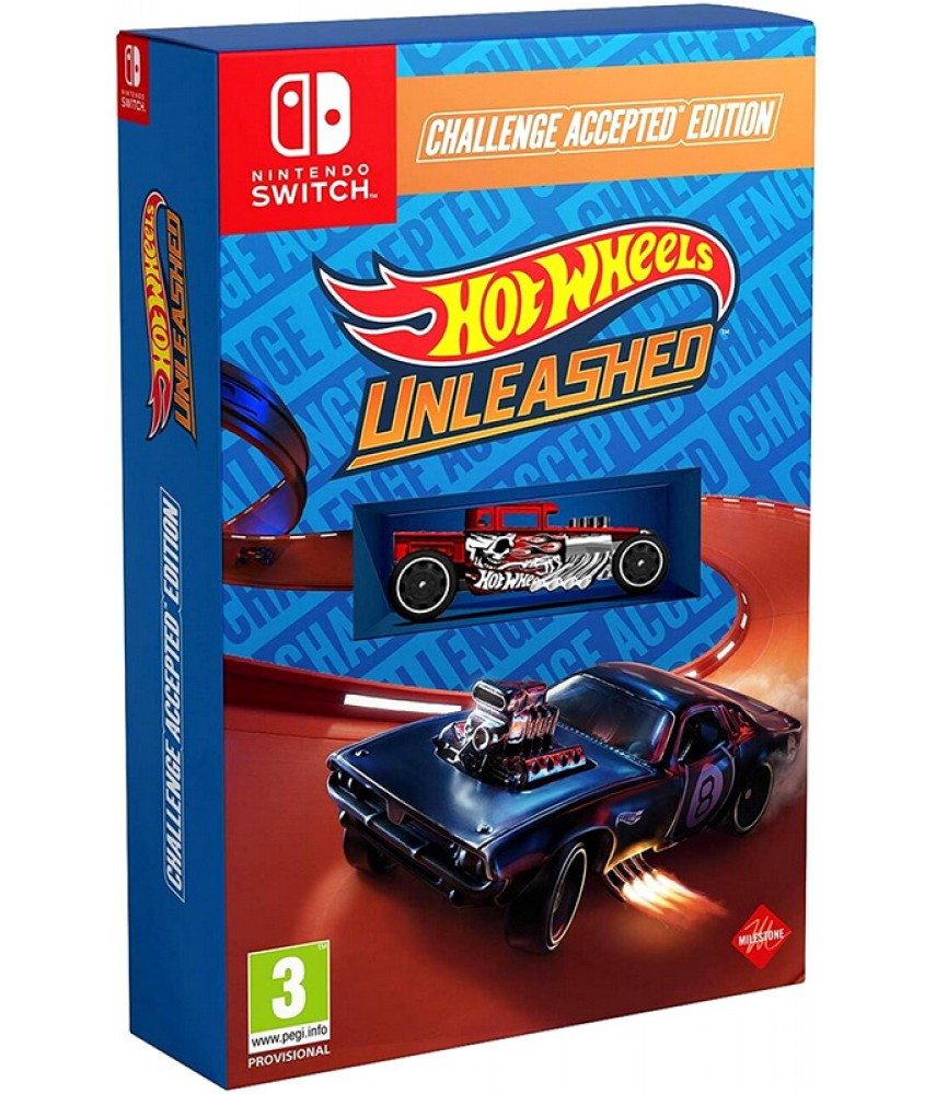 Nintendo Switch игра Hot Wheels Unleashed - Challenge Accepted Edition (Русская версия)