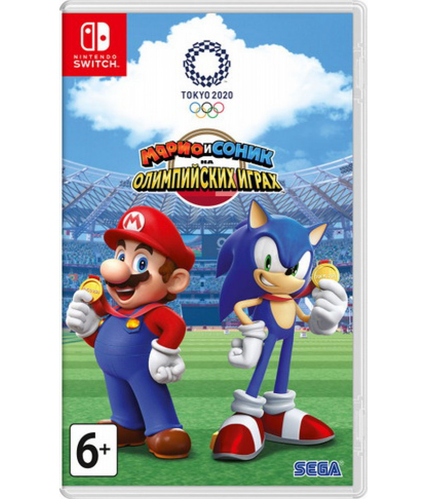 Mario and Sonic at the Olympic Games Tokyo 2020 (Русские субтитры) [Nintendo Switch]