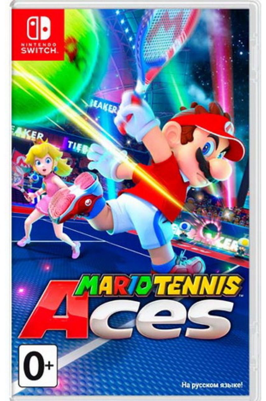 Mario Tennis Aces (Русские субтитры) [Nintendo Switch] - БУ