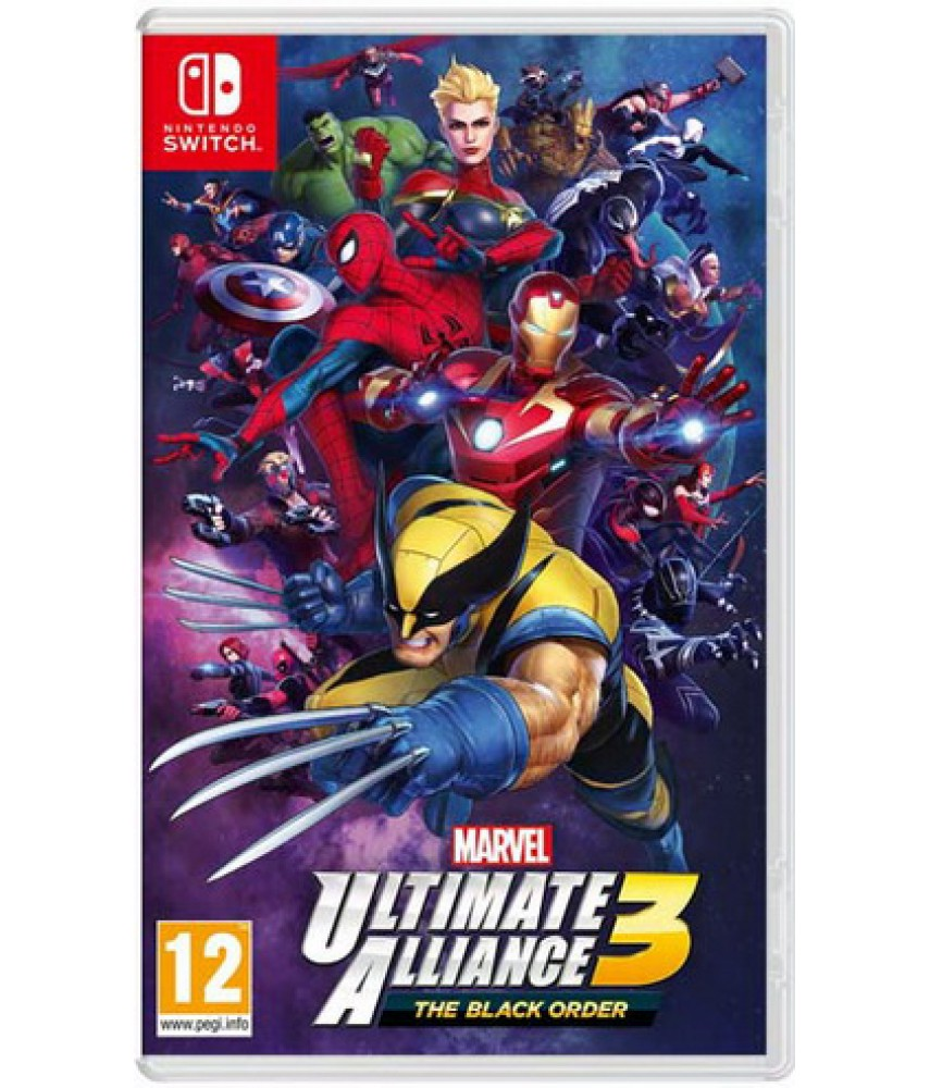 Marvel Ultimate Alliance 3 the Black Order [Nintendo Switch]
