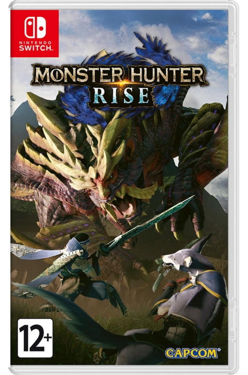 Nintendo Switch игра Monster Hunter Rise (Русские субтитры)