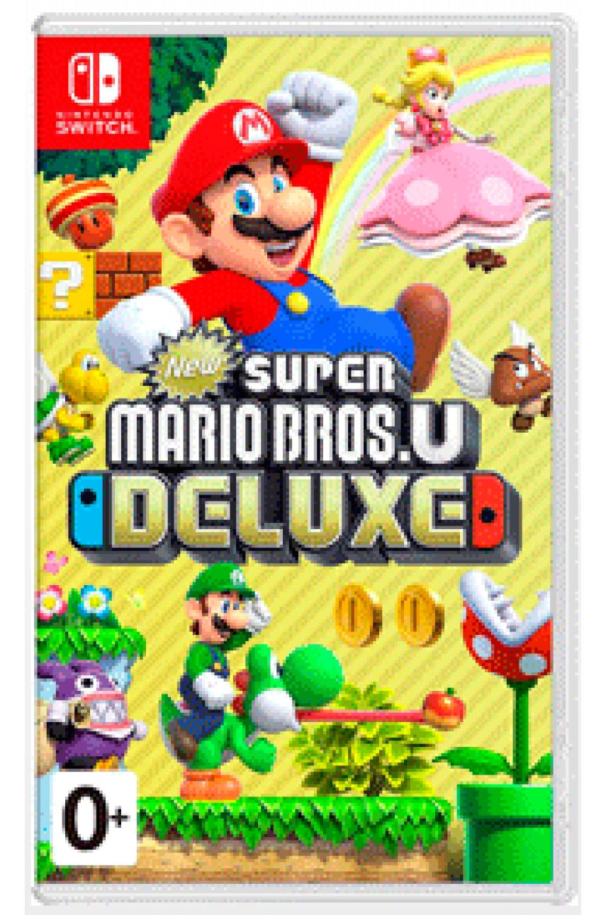 New Super Mario Bros U Deluxe (Русские субтитры) [Nintendo Switch]