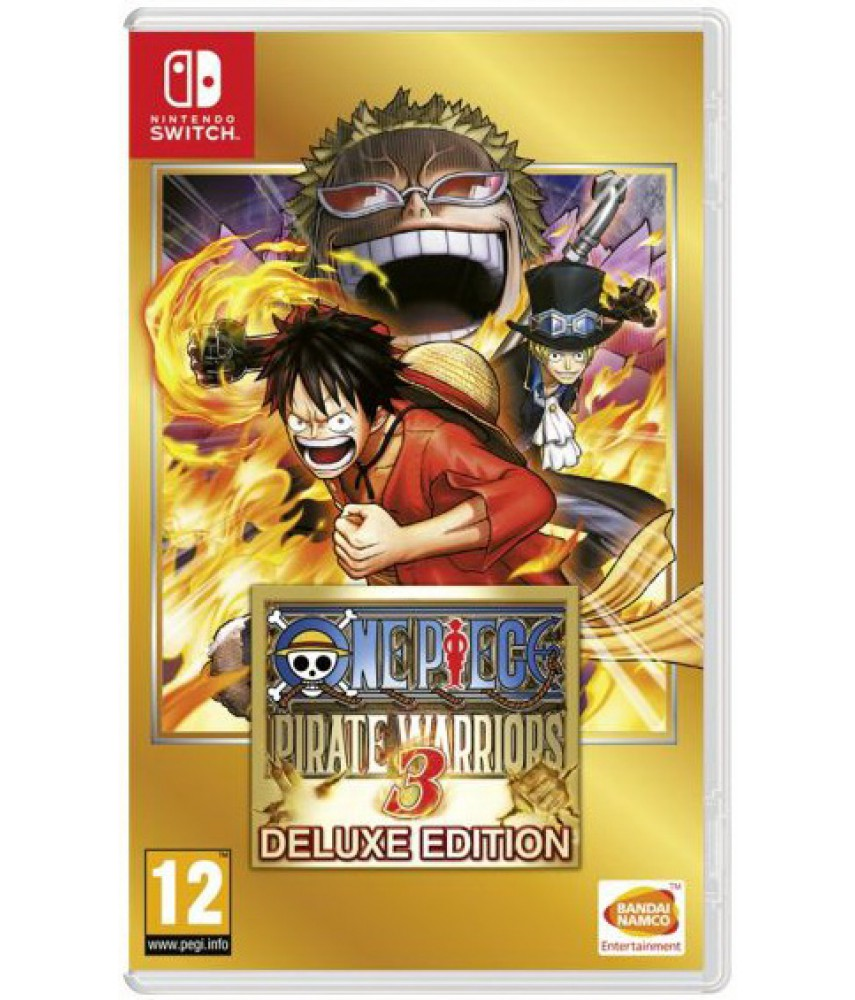 One Piece Pirate Warriors 3 Deluxe Edition [Nintendo Switch]