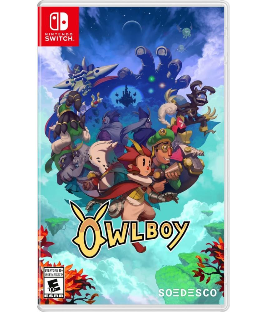 Nintendo Switch игра Owlboy (Русские субтитры) (US ver.)