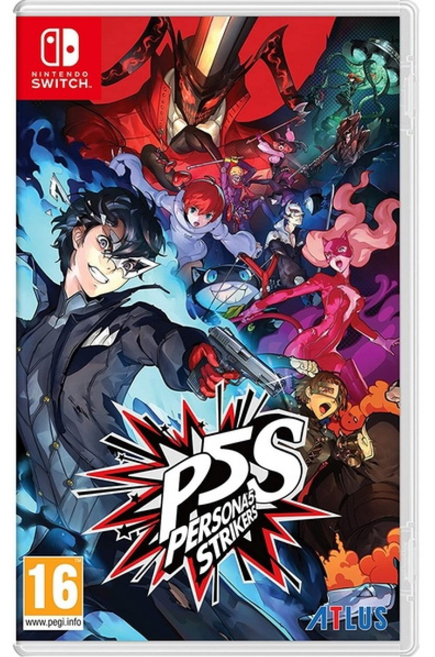 Nintendo Switch игра Persona 5 Strikers