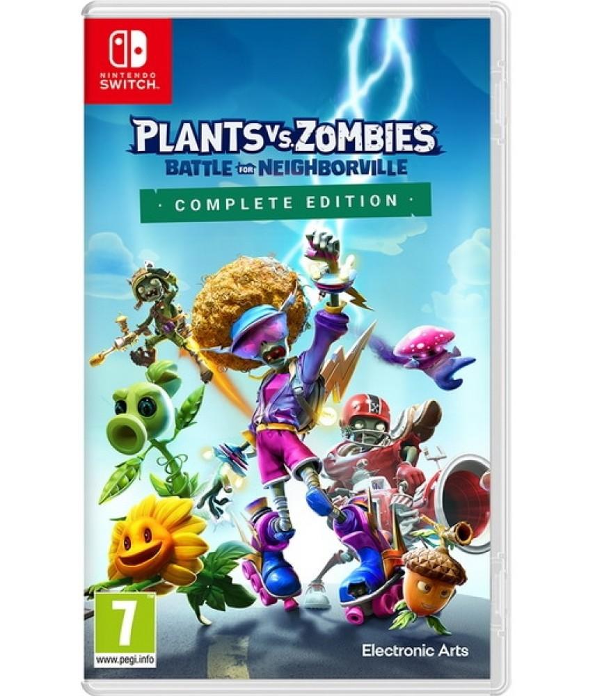 Plants vs. Zombies: Битва за Нейборвиль. Полное издание (Русские субтитры) [Nintendo Switch]