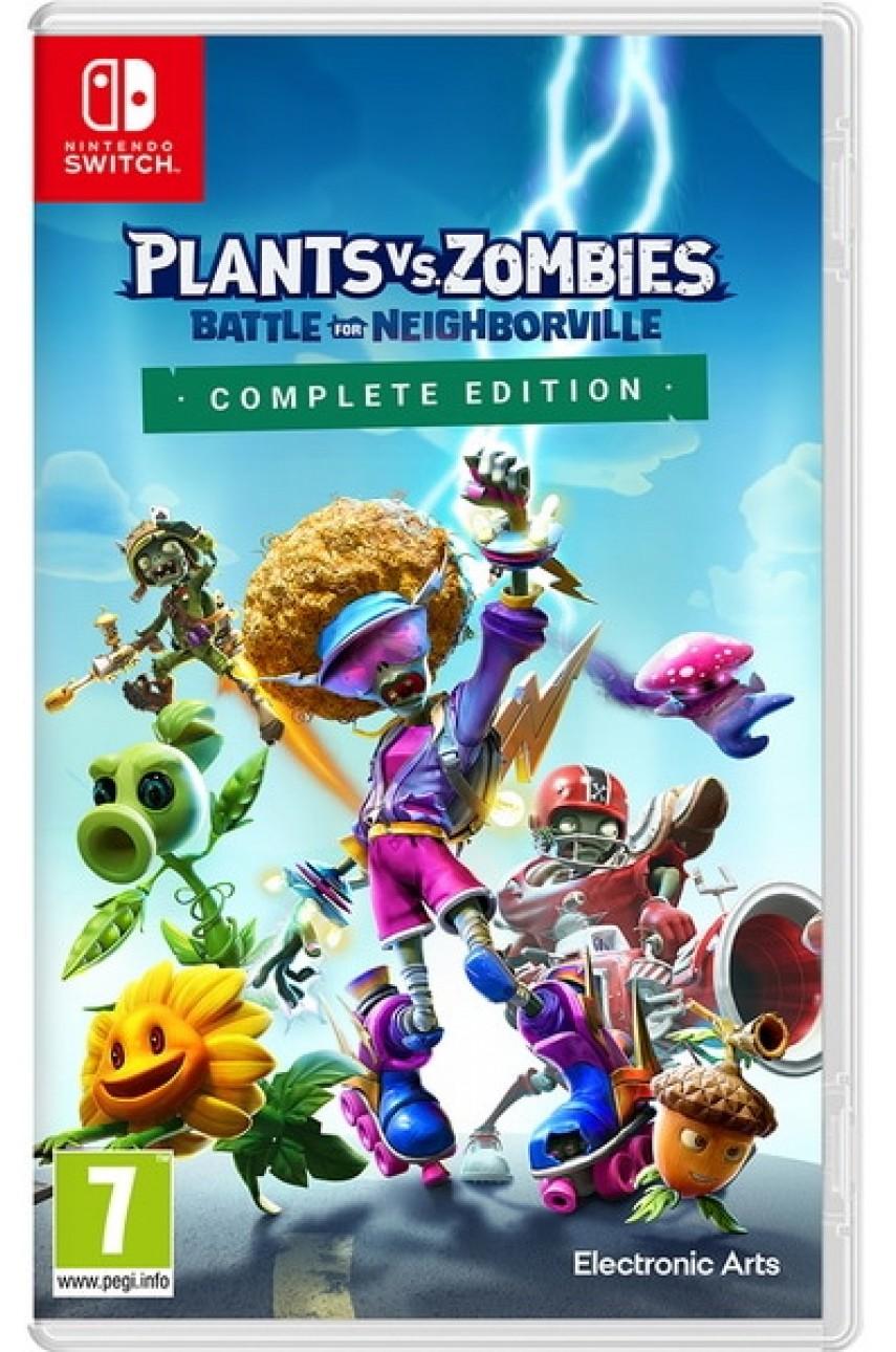 Nintendo Switch игра Plants vs. Zombies: Битва за Нейборвиль. Полное издание (Русские субтитры)