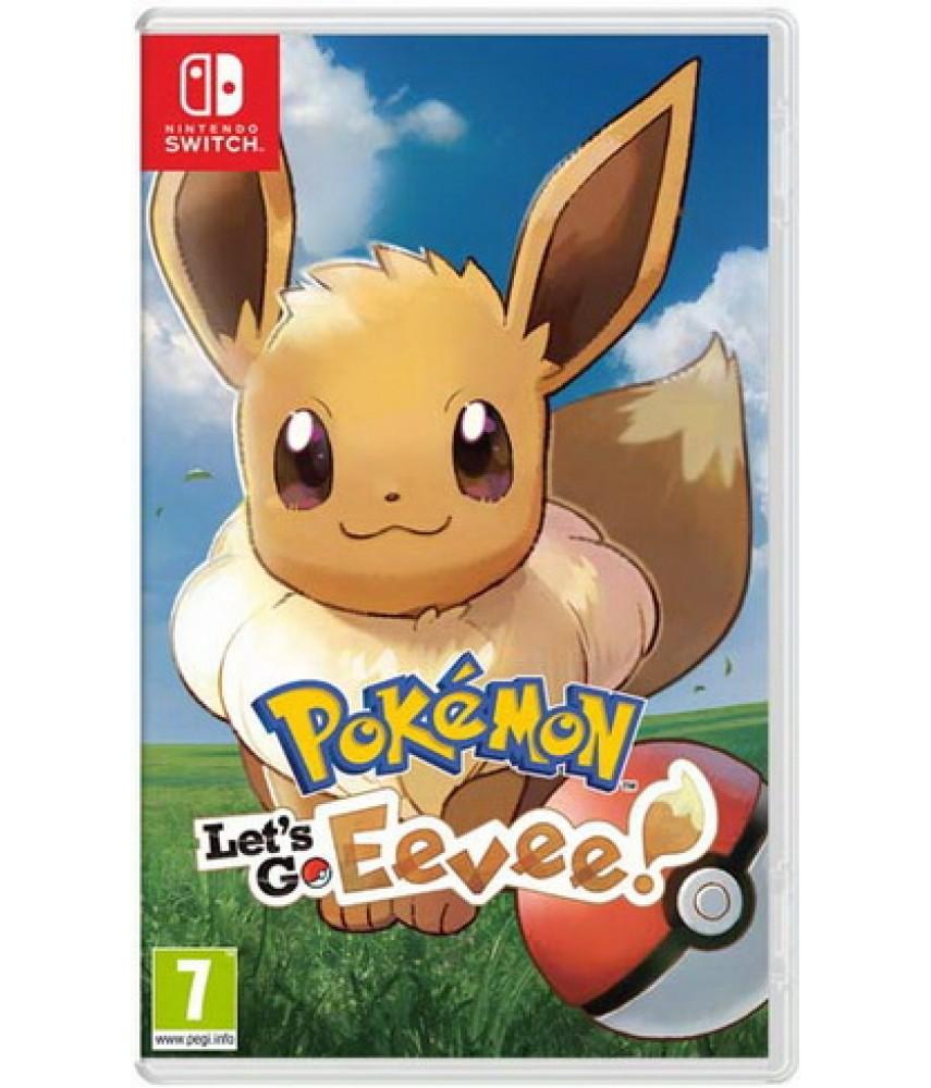 Pokemon: Let's Go, Eevee! [Nintendo Switch]