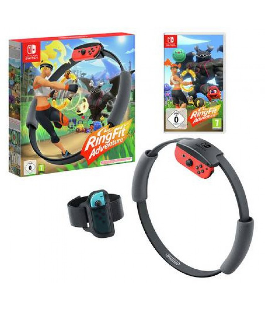 Ring Fit Adventure (Ring-Con + Belt) [Nintendo Switch]