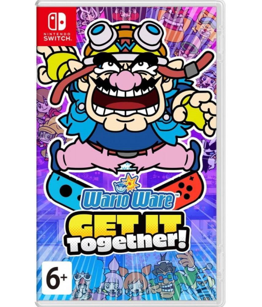 Nintendo Switch игра WarioWare: Get It Together! (Русская версия)