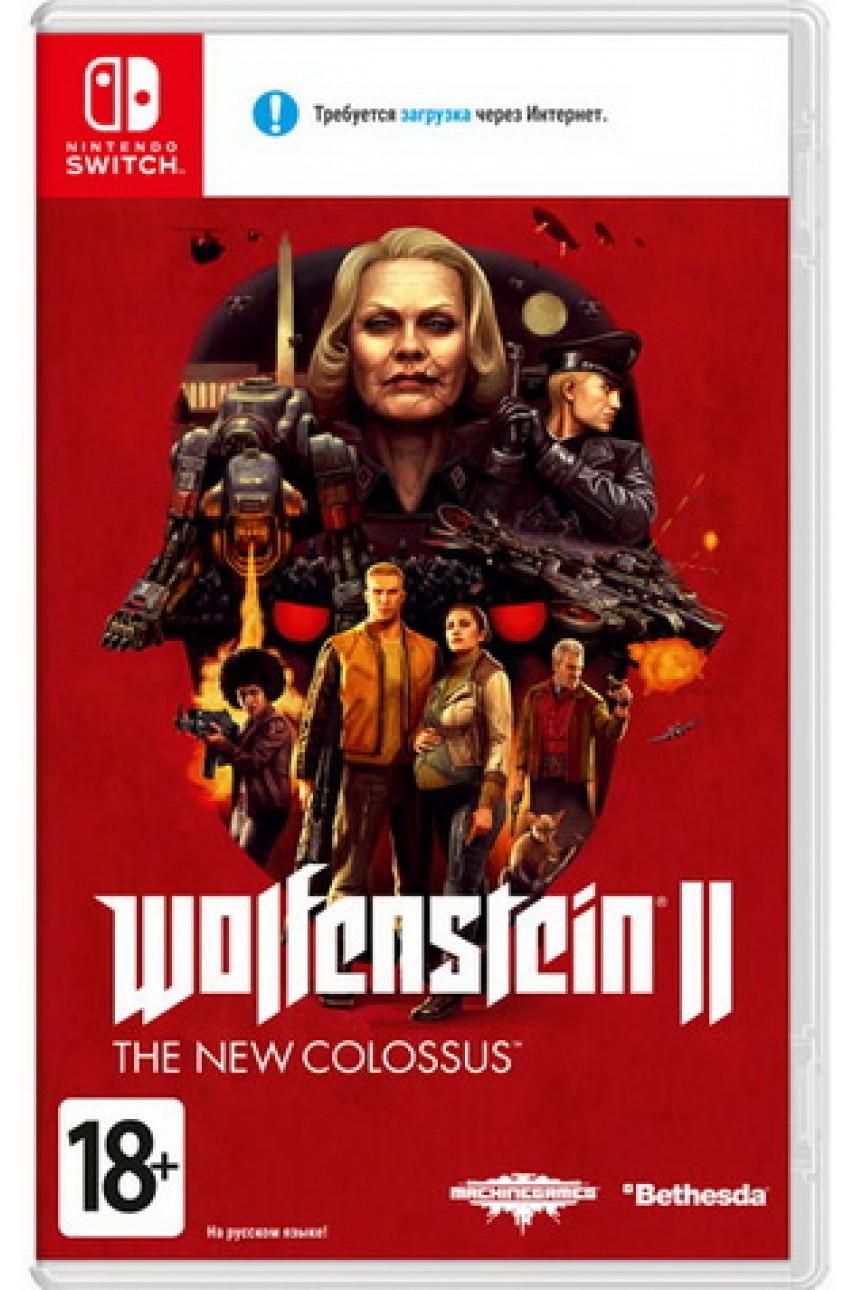 Wolfenstein II: The New Colossus (Русская версия) [Nintendo Switch] - БУ