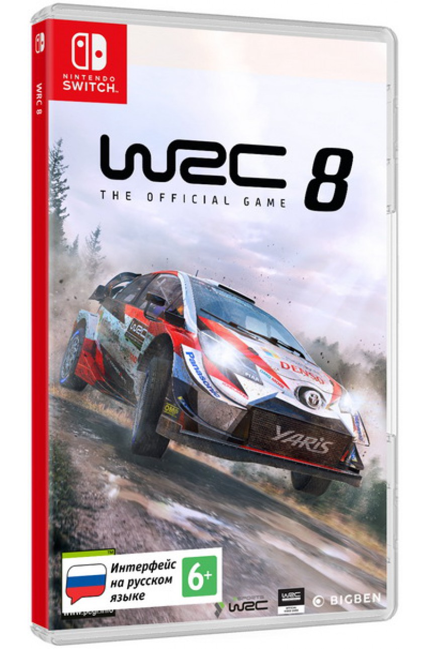 WRC 8 (Русские субтитры) [Nintendo Switch]