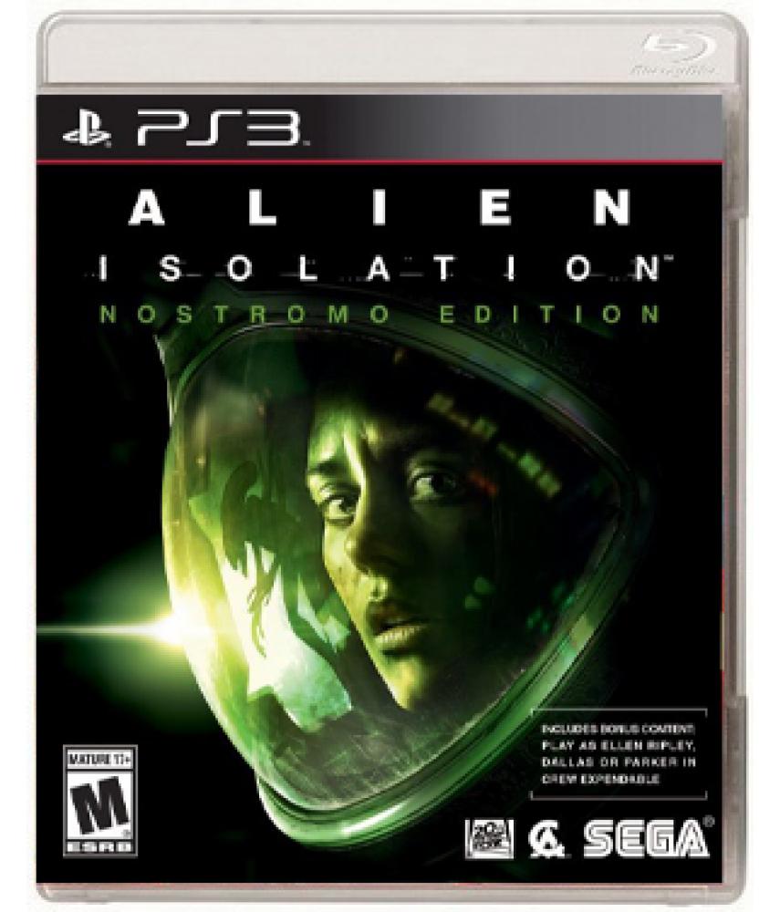 Alien: Isolation - Nostromo Edition (Русская версия) [PS3]