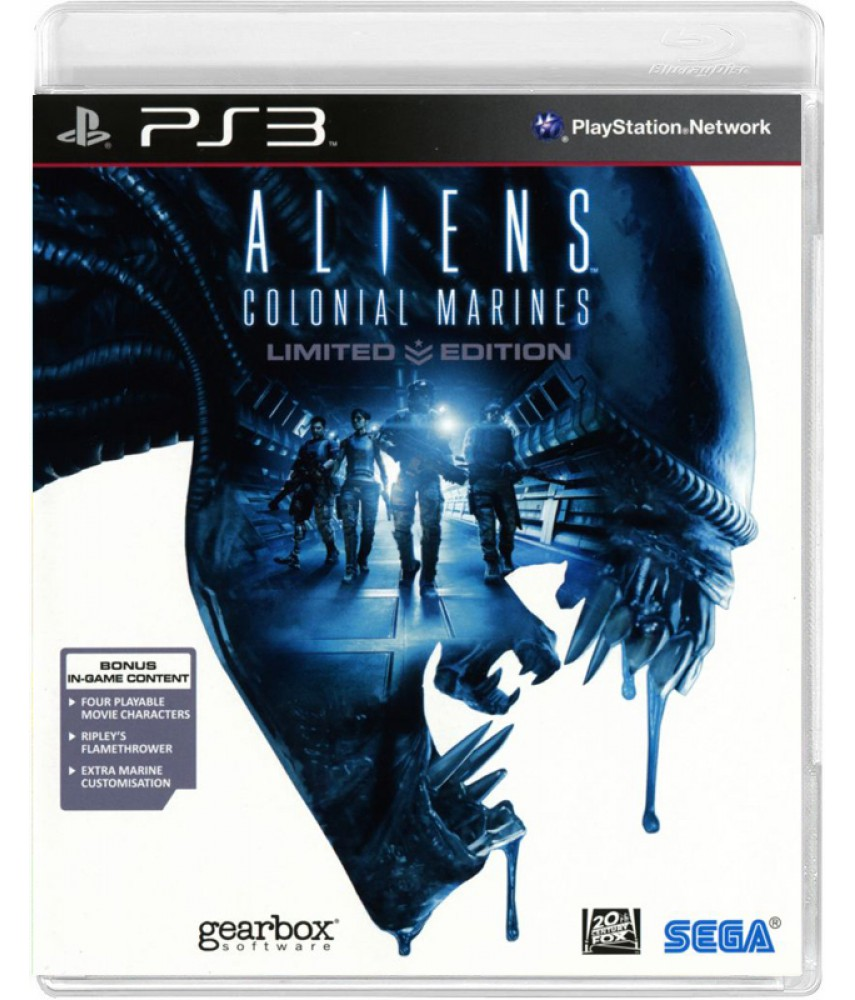 Aliens: Colonial Marines - Limited Edition [PS3]
