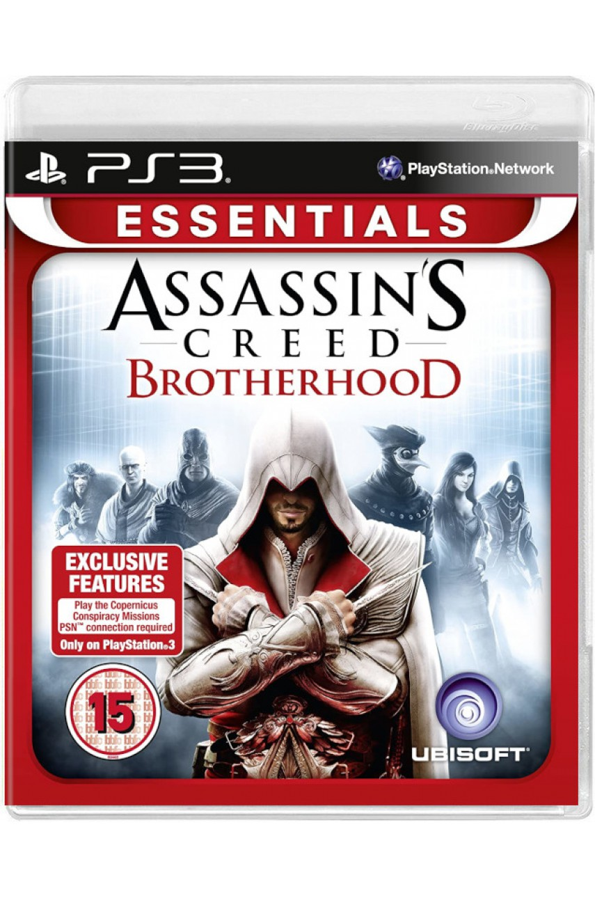 Assassin's Creed Brotherhood (Братство крови) [PS3]