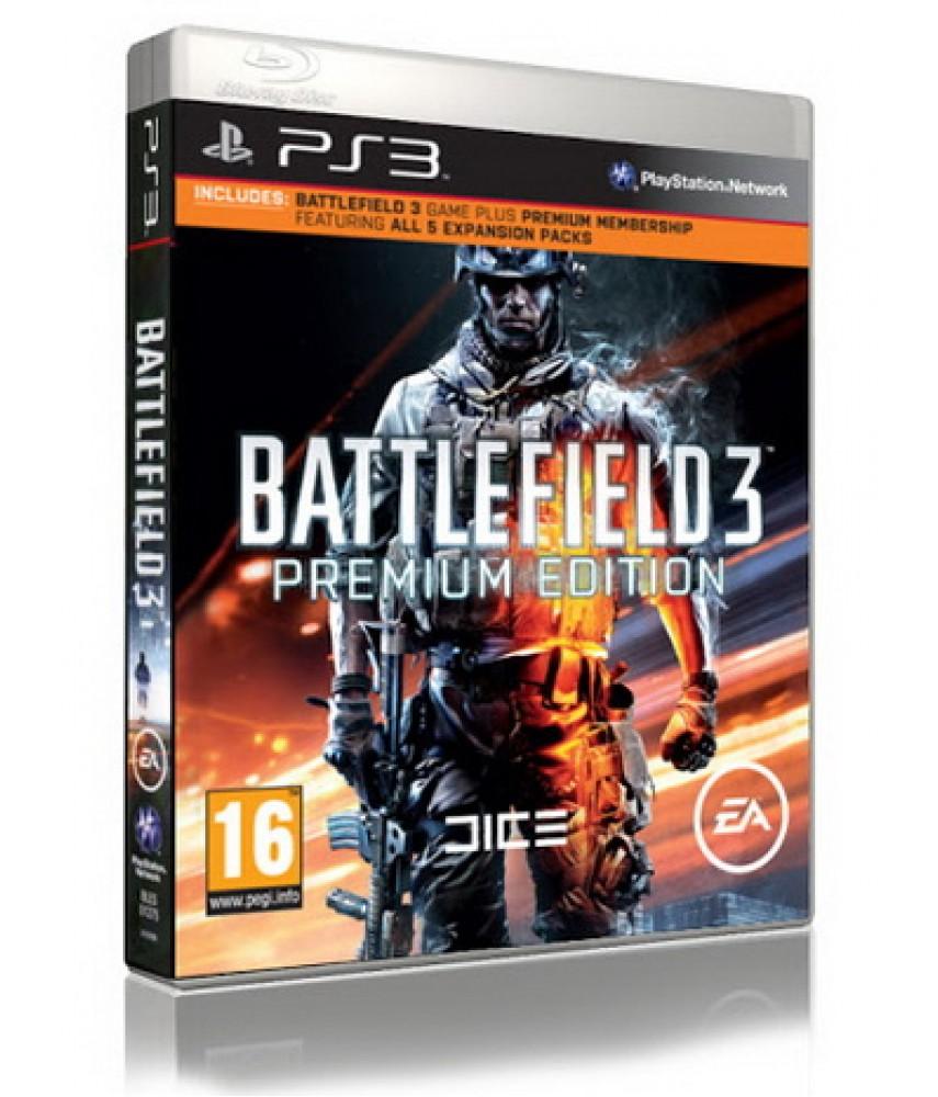 Battlefield 3 - Premium Edition (Русская версия) [PS3]