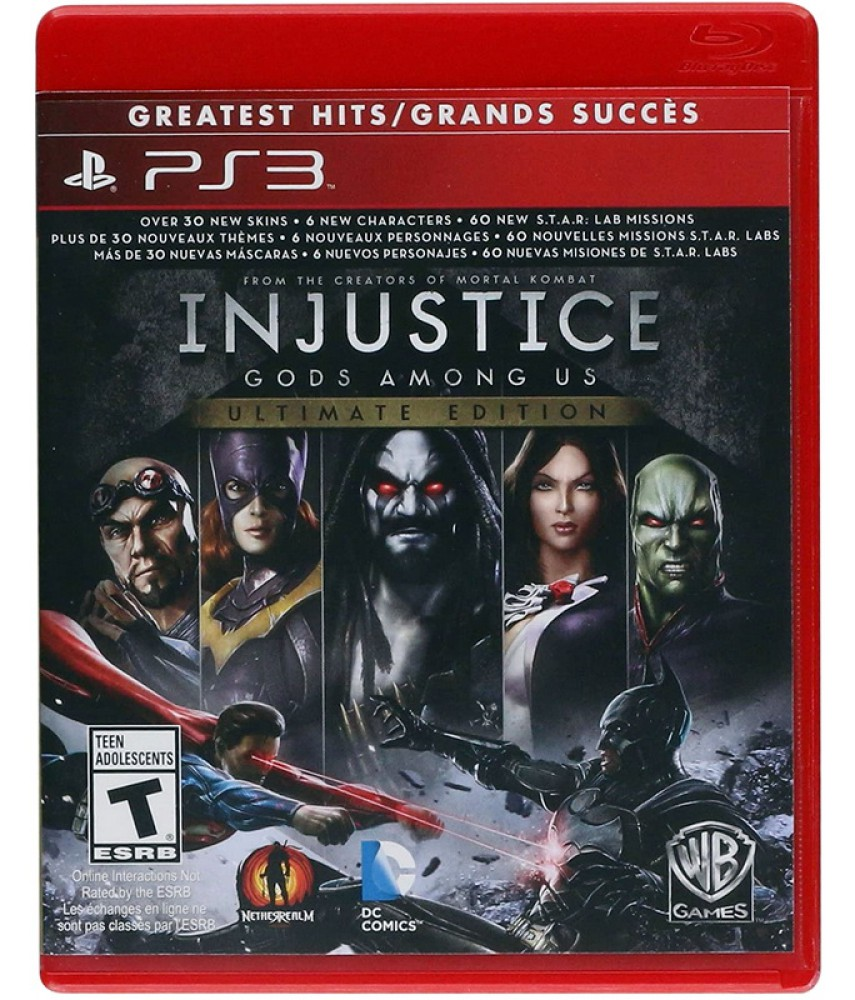 Injustice Gods Among Us Ultimate Edition (Русские субтитры) [PS3]