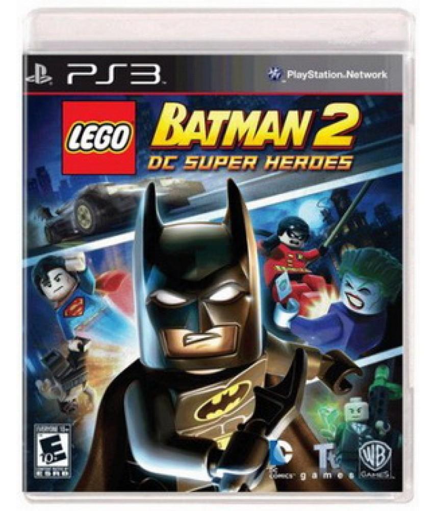 LEGO Batman 2: DC Super Heroes (Русские субтитры) [PS3]