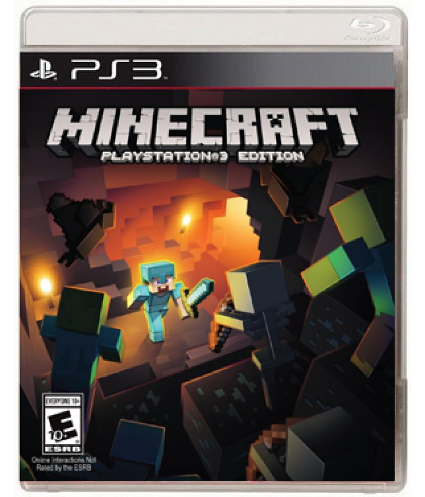 Minecraft Playstation 3 Edition (Русская версия) [PS3] (US ver.)