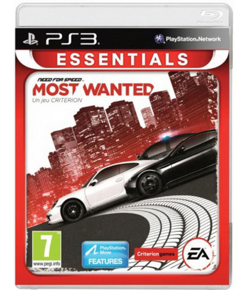 Need for Speed Most Wanted (a Criterion Game) (NFS) [PS3]