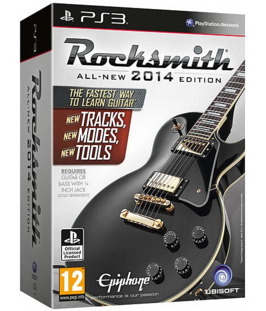 Rocksmith 2014 Edition - игра + уникальный кабель [PS3]