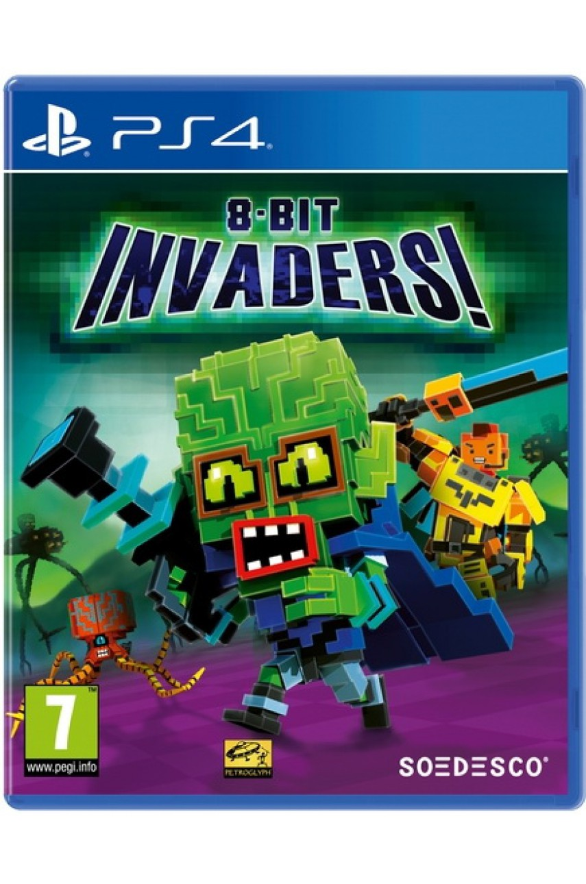 8-Bit Invaders [PS4]