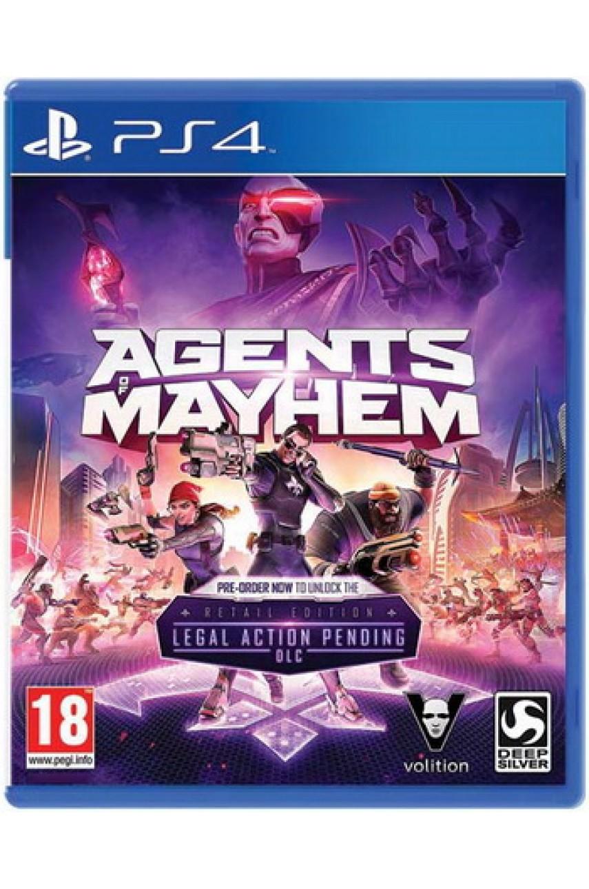 Agents of Mayhem (Русские субтитры) [PS4]