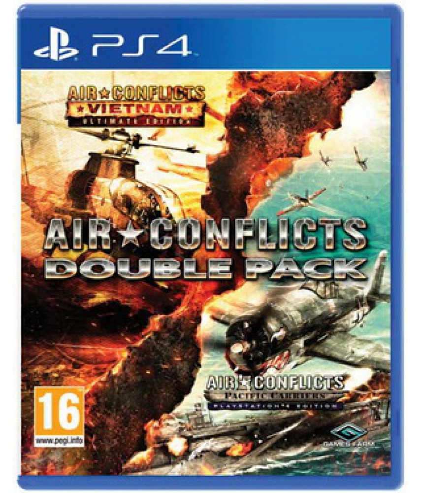 Air Conflicts: Double Pack (Русские субтитры) [PS4] (US ver.)