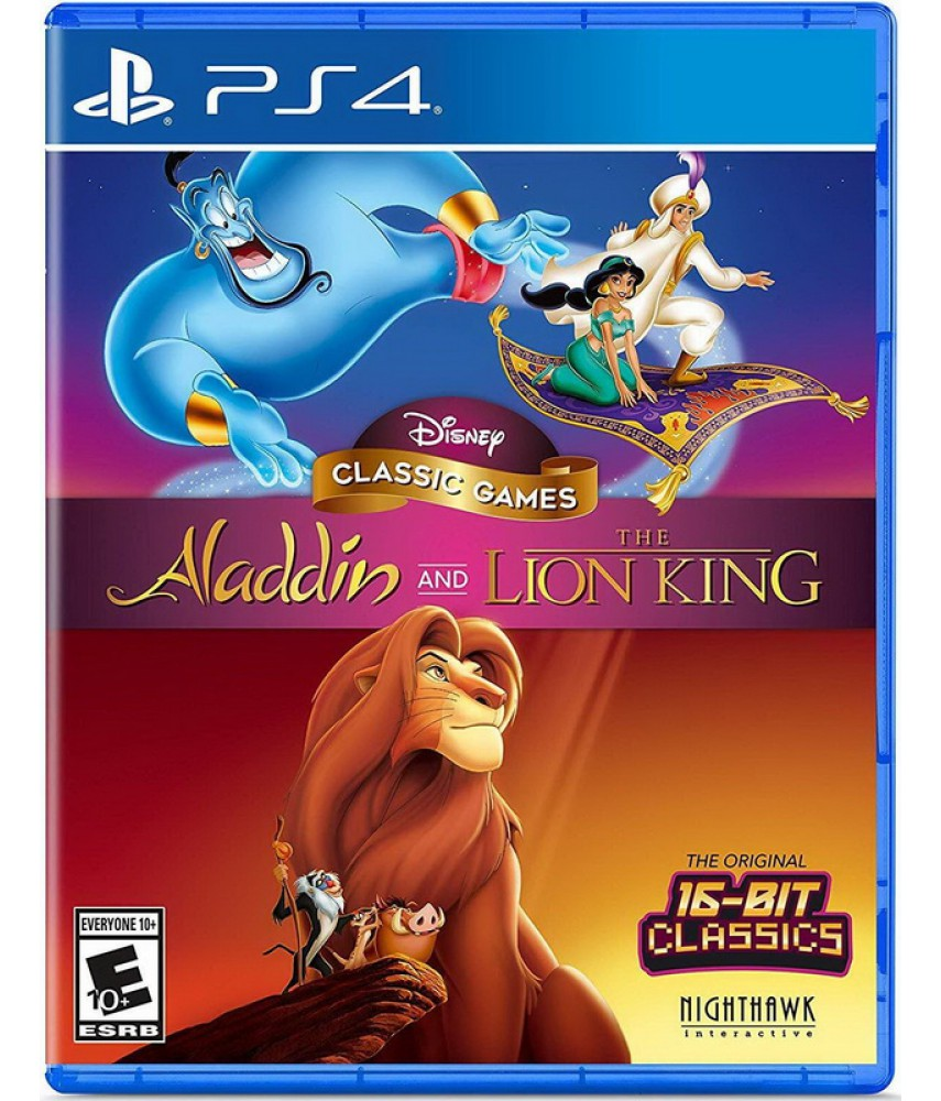 Disney Classic Games: Aladdin and The Lion King [PS4] (US ver.)