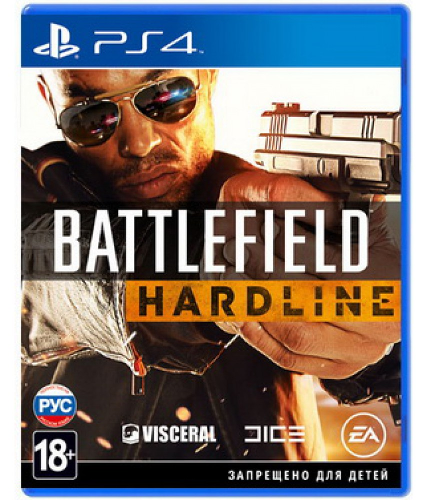 Battlefield Hardline (Русская версия) [PS4] - Б/У