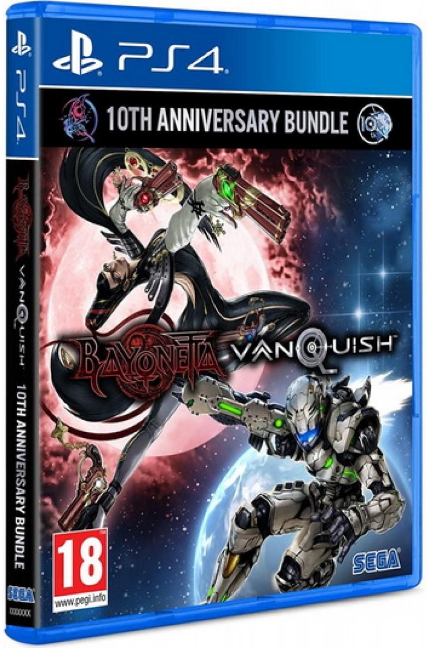 Bayonetta and Vanquish 10th Anniversary Bundle [PS4]