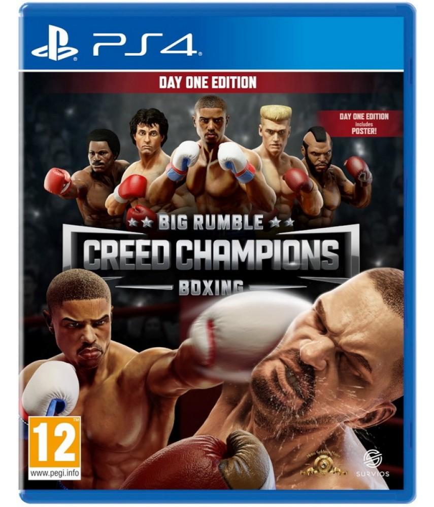 PS4 игра Big Rumble Boxing: Creed Champions