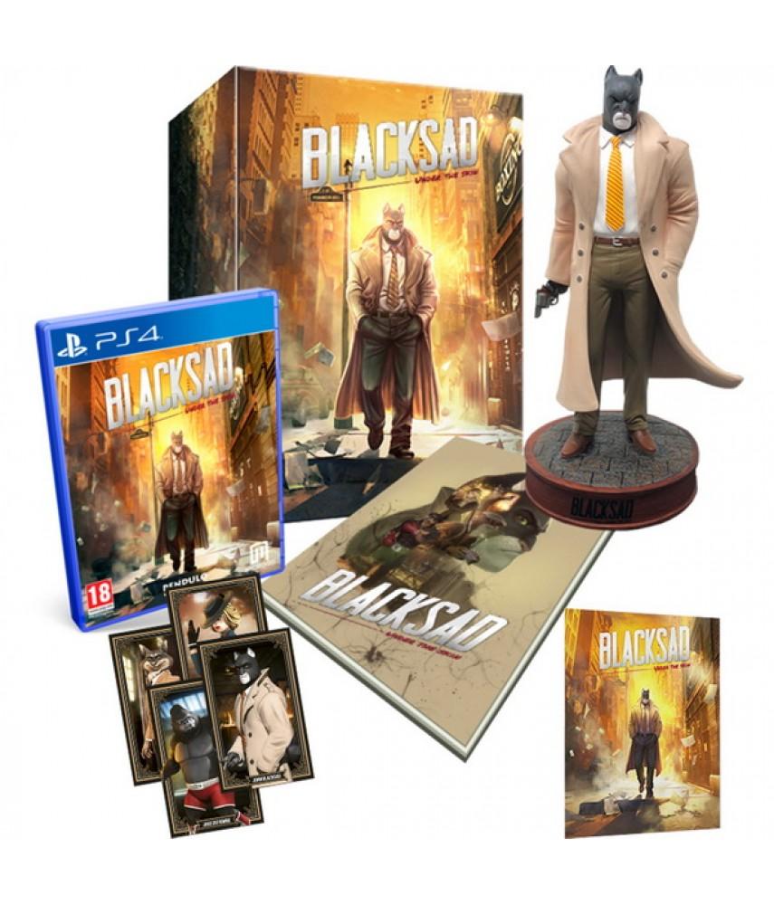 Blacksad Under The Skin Collectors Edition (Русская версия) [PS4]